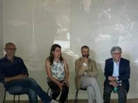 Paolo Siani, fratello del giornalista Giancarlo, in visita a Padula