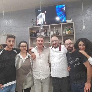 """Teggiano:il comico Franco Guzzo ospite speciale della """"Festa del tonno""""al ristorante """"La Rotonda"""""""