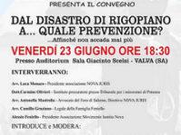 Tragedia dell'Hotel Rigopiano e prevenzione. Se ne parla il 23 giugno a Valva