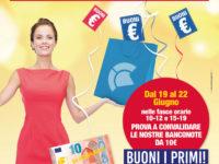 """Al Centro Commerciale Diano dal 19 al 22 giugno la speciale promozione """"Buoni i primi!"""""""