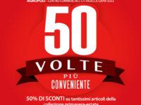 """""""50 volte più conveniente"""" negli store Piazza Italia di Atena Lucana, Eboli e Agropoli"""
