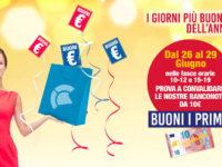 """Al Centro Commerciale Diano di Atena Lucana continua la speciale promozione """"Buoni i primi!"""""""