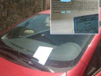 Scheda elettorale con lettera anonima sul parabrezza di un'auto. Scattano le indagini a Colliano