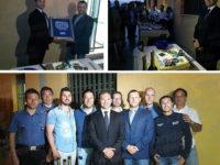 Carabinieri. Il Capitano Acquaviva festeggia la promozione con la Compagnia di Sala Consilina