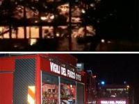 Vasto incendio nella notte a Postiglione. In fiamme un ristorante, indagano i Carabinieri