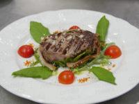 """All'Hotel """"Torre Antica"""" filetto di vitello podolico alla Giulio Cesare"""