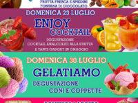 Atena Lucana: frutta, cocktail, gelati e Nutella protagonisti al Centro Commerciale Diano