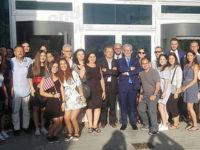 """La Banca Monte Pruno accoglie 10 giovani italoamericani. """"Vogliamo farvi innamorare dell'Italia"""""""