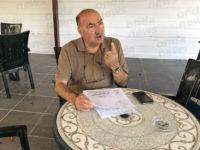 Sala Consilina: conferenza stampa di Angelo Paladino su emergenza idrica e incendi