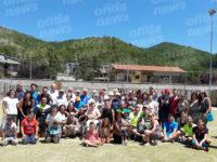 Gli arbitri di Sala Consilina a Casalbuono per un torneo solidale con i ragazzi disabili