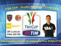 L'arbitro Ivan Robilotta della sezione A.I.A. di Sala Consilina inaugura la TIM CUP 2017/2018