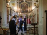 Le telecamere di TV 2000 alla scoperta delle bellezze di Teggiano e Sant'Angelo a Fasanella
