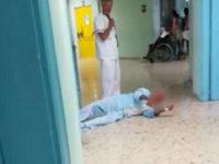 Ospedale Vallo della Lucania. Anziano con femore rotto striscia a terra perché non lo operano