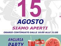 Atena Lucana: Ferragosto al Centro Commerciale Diano con l'Anguria Party