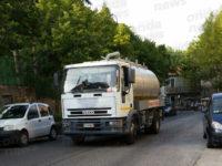 Grave crisi idrica a Caselle in Pittari. Arriva l'autobotte per rifornire abitazioni e attività
