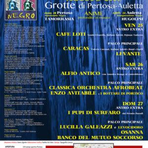 """Pertosa: Levante, Enzo Avitabile e il Banco del Mutuo Soccorso sul palco del """"Negro Festival"""""""