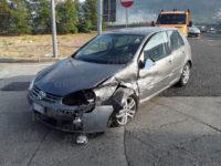 Sala Consilina: auto perde il controllo e finisce contro il guardrail in autostrada. Ferito 84enne