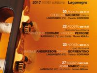 """Al via da domani il 34° """"Festival internazionale della Chitarra di Lagonegro"""""""