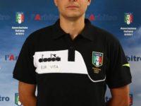 Manuel Robilotta, arbitro della sezione AIA di Sala Consilina, designato per Avellino-Matera