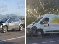 Incidente sulla SS 19 tra Padula e Buonabitacolo. Coinvolte due auto e un furgone