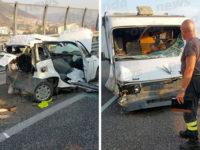 Camper si scontra con auto in A2 tra Padula e Sala Consilina. Muore donna originaria di Montesano