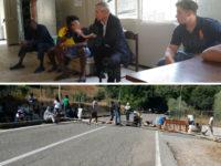 """Protesta migranti a Sicignano. Gli ospiti: """"Non siamo cattivi, ma stare isolati ci fa impazzire"""""""