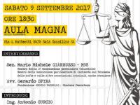 Sala Consilina:il 9 settembre incontro dei 5 Stelle sui tagli alla Giustizia e alla Sicurezza