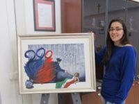L'artista Francesca D'Anza, diplomata al Liceo Artistico di Teggiano, espone le sue opere a Lugano