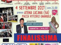Atena Lucana: questa sera la finalissima del concorso di bellezza Miss Modellare Tour 2017
