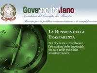 Bussola della Trasparenza. Il sito web della Provincia di Salerno fra i primi 7 a livello nazionale
