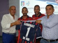 """Calcio, presentata la nuova squadra del Valdiano. Il patron Cardinale:""""Saremo protagonisti"""""""