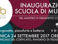 Teggiano: il 24 settembre inaugurazione della scuola di musica del Maestro Cono D'Elia