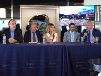 Banca Monte Pruno e DLiveMedia. Violante Placido alla presentazione sulla MSC Meraviglia a Napoli