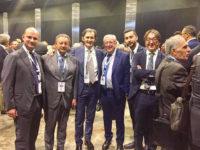 I vertici della Banca Monte Pruno a Milano per il meeting di Cassa Centrale Banca