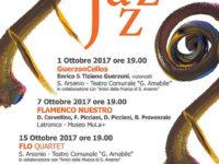 "Sant'Arsenio: al via dal 1° ottobre la rassegna ""Protagonisti italiani del Jazz"""