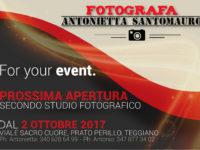 Teggiano: il 2 ottobre apertura del secondo studio fotografico di Antonietta Santomauro