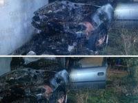 Sassano: auto in fiamme nella notte. Ritrovati Diavolina e pezzi di ceri nei pressi del rogo