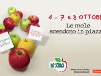 """Il 7 e l'8 ottobre torna """"La Mela di AISM"""" a Sala Consilina e al Centro Commerciale Diano"""