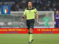 Daniele Martinelli, arbitro della Serie B, visita la Sezione A.I.A. di Sala Consilina