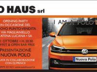 Atena Lucana: il 21 ottobre speciale Opening Party per il nuovo punto vendita di Auto Haus