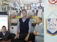 """L'arbitro della Serie B Martinelli alla Sezione di Sala Consilina: """"Servono serietà e impegno"""""""