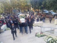 A Campagna dolore e commozione per l'ultimo saluto ad Antonio Fiorillo, morto tragicamente in moto