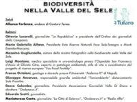 """Contursi: il 21 ottobre incontro su """"Tutela dell'ambiente e biodiversità nella Valle del Sele"""""""