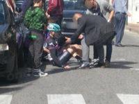 Sala Consilina: ciclista di Laurino ferito in uno scontro con un'auto nella Mediofondo Meridiana