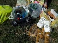 Teggiano: butta in aperta campagna gli aiuti alimentari per i poveri. Sanzionato cittadino rumeno