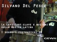 Padula: il 13 ottobre a lezione di batteria con Silvano Del Pesce da Centro Musica Store