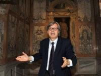 Curiosità storiche valdianesi. Una sera d'estate a Teggiano con Vittorio Sgarbi