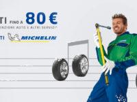 Atena Lucana:fino a 80 euro di sconto sugli acquisti Michelin da Euromaster Marchesano Pneumatici