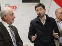 Roberto Speranza inaugura il circolo del partito Articolo 1-MDP a Vietri di Potenza