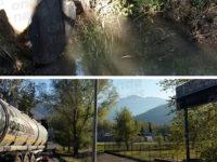 Melma sospetta nell'impianto di depurazione della zona industriale a Buccino. Analisi nella norma